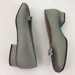 Talbots Women's Shoes Size 8.5W Fabric & Leather